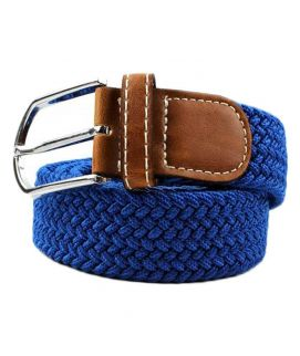 YNG Empire Royal Blue Elastic Belt For Men
