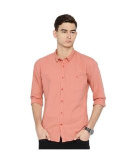 YNG Empire Peach Casual Shirts For Men