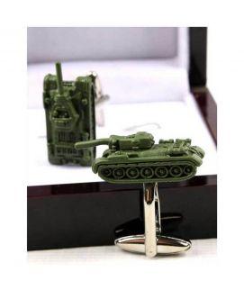 YNG Green Army Tnag Cufflinks