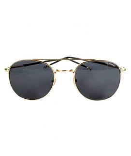 YNG Stainless Steel Glasses Black & Golden