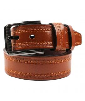 YNG Empire Brown Leather Belt For Men