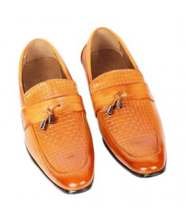 Men's Brown Empire Formal Loafers Shoes