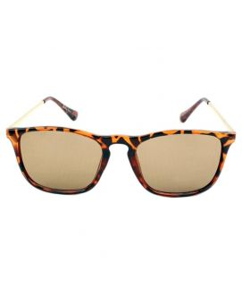 Ladies Brown Sunglasses Leopard Style