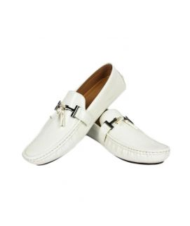 YNG Loafers For Men White