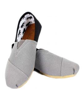 YNG Toms Grey And Black For Men