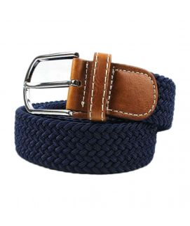 YNG Empire Blue Elastic Belt For Men