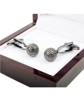 Stainless Silver Elgant Design Cufflink