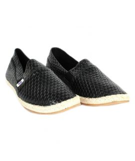YNG Empire Black Canvas Toms