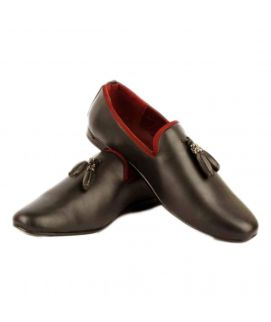 Men's YNG Empire Coffee Synthetic Leather Shoes