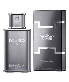 Yves Saint Laurent Kouros Silver Perfume For Men 100ml