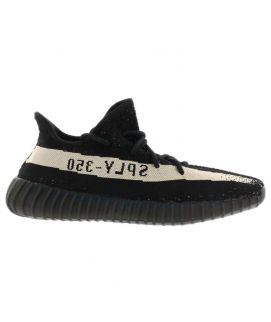 Yeezy Boost 350 V2 Black White Men's Shoes