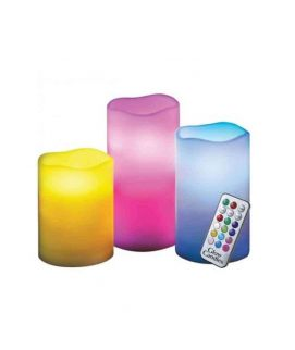 Luma Candles Flameless Color Changing