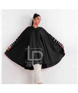 Women's Black Butterfly Style Kurtie