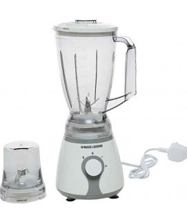 Black And Decker BX225 Blender with Chopper And Grinder White And Grey