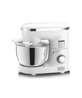 Black & Decker SM1000 6Speed Stand Mixer with Stainless Steel Bowl 1000W