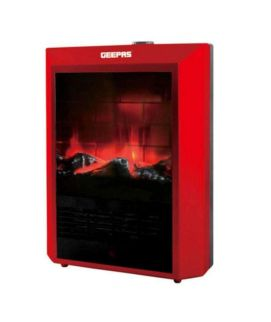 Geepas Electric Heater Red