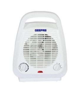 Electric Fan Heater White