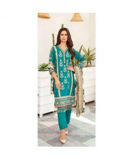 Hania Eman 3Pcs Unstitched Suit Collection 07