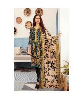 Hania Eman 3Pcs Unstitched Suit Collection 08