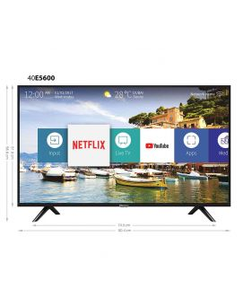 "HISENSE FHD LED SMART TV 40"" 40E5600EA"