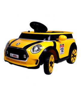 Yellow monocruiser For Kids With Remote Control