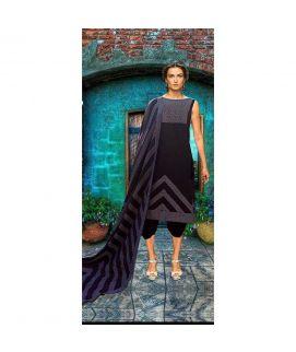 Satrang Khaadi Cotton Hand Weven Unstitched 3 Piece Suit 1002