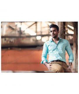 Sky Blue Shirt For Men