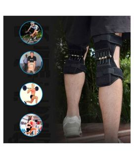 1 Pair Patella Booster Spring Knee Brace For Mountaineering