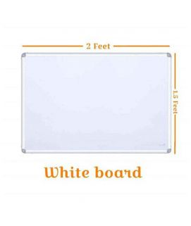 1.5ft x 2ft Dry Erase White Board Hanging Writing Drawing & Planning Whiteboard