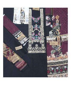 3PC Embroidery Replica Black Master For Women