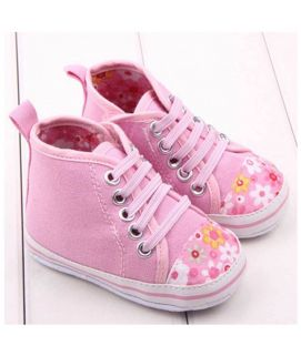 Baby Pink & White Shoes